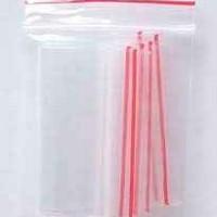 Saco em Plástico Transparentes com Fecho Zip